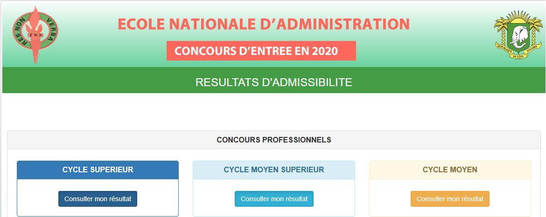 Resutat admissibilité ENA - ENA - École nationale d'administration
