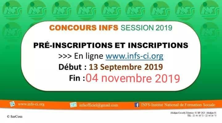 CONCOURS DE INFS ÉDITION 2019 PREND FIN