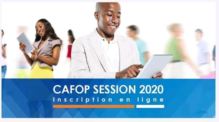 CAFOP 2020 Préinscriptions et Inscriptions au Concours d'entrée au CAFOP (Instituteurs Adjoints) Session 2020