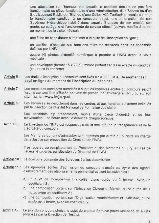 CONCOURS INFJ 2020 : GARDE PÉNITENTIAIRE